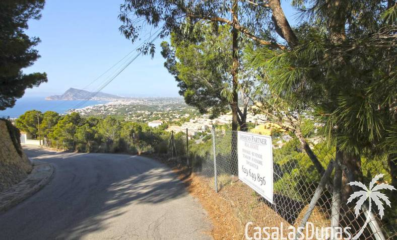 Building plot - Resale - Altea - Altea