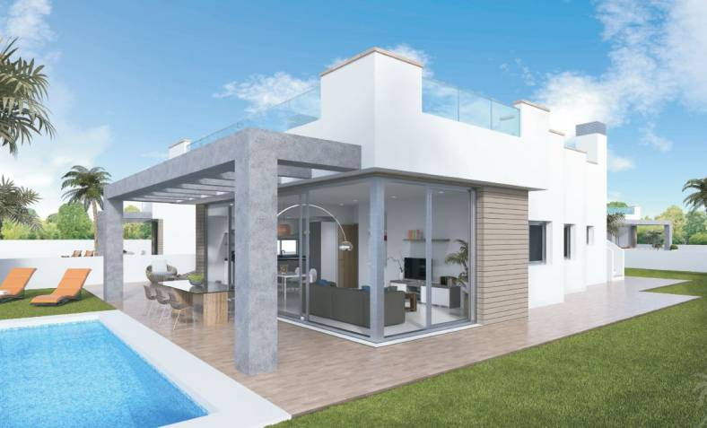 Villa - New Build - La Manga del Mar Menor - La Manga del Mar Menor